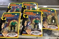 Lot Five (5x) 1990 Playmates Dick Tracy Coppers and Gangsters Figures Playmates