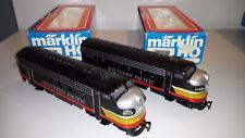 Märklin 3129 + 4129  F7 Diesellok SOUTHERN PACIFIC, OVP, guter Zustand