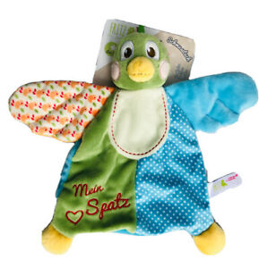 NEW My FIRST NICI Fritz the Sparrow Green Baby Comforter Soft Toy Plush