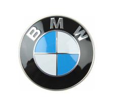 ORIGINAL BMW REAR Trunk Deck Lid Emblem Badge ROUNDEL Logo 1988+UP CHECK FITMENT