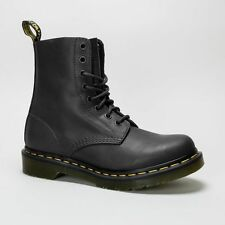 Dr. Martens Block Heel 100% Leather Upper Shoes for Women