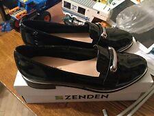 Zenden women shoes patent leather europe size 40 US Size 8 UK Size 6.5