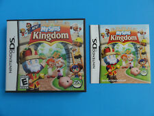 NO GAME- NINTENDO DS MY SIMS KINGDOM  - CASE & MANUAL ONLY NO GAME -