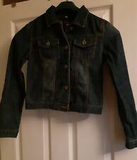 Denim Jacket - Girls Age 13 (Blue Zoo)