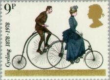 GREAT BRITAIN -1978- Cycling - 'Penny-farthing' and 1884 Safety Bike - MNH #843