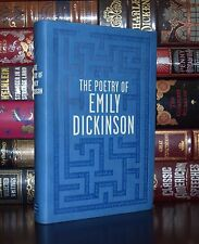 The Poetry of Emily Dickinson Unabridged Collectible Deluxe Soft Leather Feel Ed