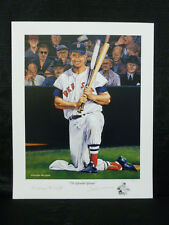 Ted Williams Boston Red Sox Signed George Wright Lithograph #373/1000
