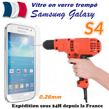 Vitre protection film protecteur d'écran en VERRE TREMPE Samsung Galaxy S4 i9505