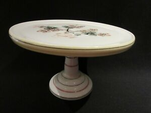 Challinor, Taylor & Co Cake Stand with Cherry Blossom Decoration