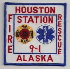 Patch Houston Fire Department Alaska USA Feuerwehr