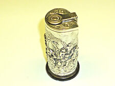 "IMCO ""TRIPLEX"" 1950S TABLE LIGHTER W. DUTCH 835 SILVER CASE (RELIEF) MOTIVE"