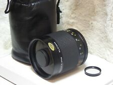 Rokinon 500mm f/8.0 mirror MF Lens For Canon fd optics exc ++ fit any camera ae1
