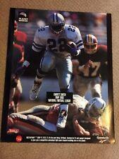 Emmitt Smith Planet Reebok National Football League 1993 MVP Poster Mint 1994