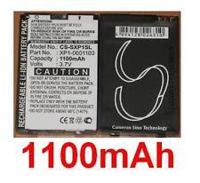 Batterie 1100mAh type XP1-0001100 Pour JCB Toughphone Sitemaster