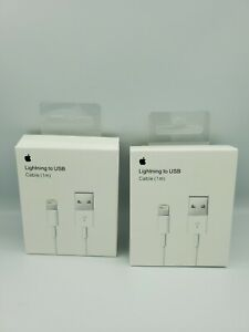 2X Lightning Cable For Genuine Apple iPhone  Charger  1m - AU Stock!