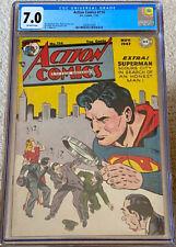 ACTION COMICS #114 CGC 7.0 (1947) DC COMICS WAYNE BORING COVER