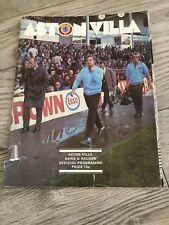 Aston Villa V Norwich City League 1976-1977 Season