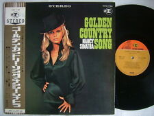 NANCY SINATRA GOLDEN COUNTRY SONG / WITH OBI