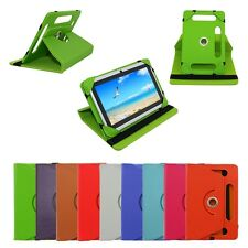 Funda Carcasa GIRATORIO Folio Stand Case Cover Leather For 7'' Tablet Universal