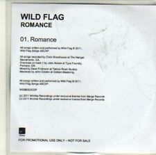 (CI370) Wild Flag, Romance - 2011 DJ CD