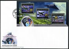 GUINEA 2012 JAPANESE  PLANES OF THE WORLD  SHEET  FIRST DAY COVER