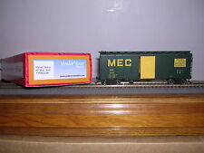 "INTER.Spec.  MEC Maine Central ""Green"" 40' Modified AAR Box Car w/4 #s H.O.Gauge"