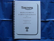 TRIUMPH T120,TR6,6T PARTS BOOK/CATALOGUE  FOR 1966  MODELS