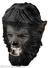 DELUXE QUALITY ADULT LATEX WOLFMAN THE WOLFMAN OVERHEAD MASK
