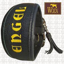 WOZA Premium Windhund Halsband Vollleder Rindnappaleder Greyhound Collar L2855