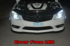 4x MERCEDES C Class W204 LED Luci No Warning Errori Canbus Sport AMG BIANCO