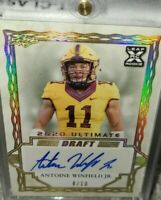Antonio Winfield SP#8/10 Autograph~GOLD PARALLEL ROY??~1st Rookie Card~ 1/1 EBAY