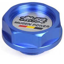 Blue Mugen Car Engine Oil Fuel Filler Filter Tank Cap Cover Plug for Honda