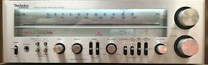 Technics Stereo Receiver SA-500 Vintage Late70's Powered On Limited Testing READ
