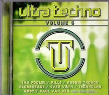 ULTRA TECHNO.   ( VOLUME 6 ) .  2CD.   36 titres.
