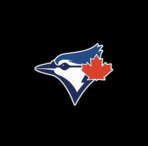 TORONTO BLUE JAYS TEAM LOGO VINYL DECAL PERMANENT TRUCK CAR WINDOWS TOOLBOX