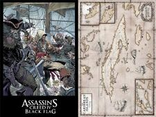 "Assassins Creed IV Black Flag Limited Edition Poster Todd McFarlane 36"" x 24"""