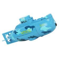 RC Racing Sous-marin Bateau Modèle 3CH Jouet Télécommandé RTR Enfant Bleu