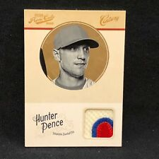 HUNTER PENCE RARE PHILLIES 2012 PRIME CUTS CENTURY GAME USED JERSEY PATCH # 9/25