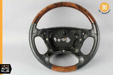 03-09 Mercedes W209 CLK500 CLK550 SL600 Steering Wheel Black Wood OEM