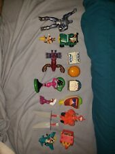 Vintage Mcdonalds Burger King Toy Lot Junk Drawer transformers xmen rondald