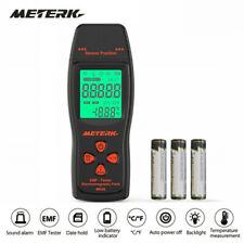 Meterk MK08 EMF Meter Handheld Mini Digital LCD Detector Field Radiation Y1M9