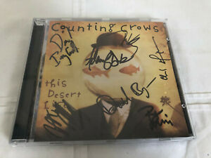 Counting Crows This Desert Life DGC Signed CD, Estate Find, Very Rare!