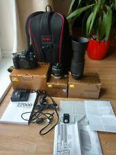 Nikon d7000 Fotocamera Reflex Digitale-basso otturatore con lenti, Borsa, Wireless Remote.