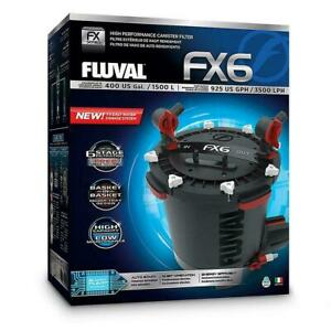 Fluval FX6 High Performance Canister Filter Includes Media - FAST SHIPPING