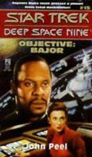 Objective: Bajor - Star Trek Deep Space Nine #15, Peel, John, 0671568116, Book,