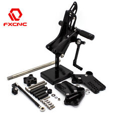 FXCNC Racing Rearsets Footrest Peg Rear Set For 2011-2017 KTM Duke 125 200 390