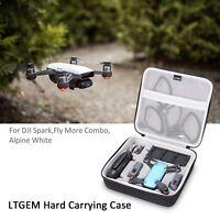 LTGEM Hard Storage Bag for DJI Spark, Fly More Combo, Alpine White, Case Only