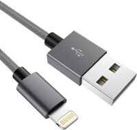 CHARGEUR RENFORCE POUR IPHONE CABLE USB SYNC SOLIDE DURABLE 5 SE 6 7 8 Xs IPAD