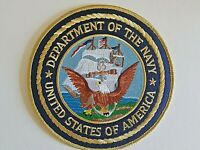 Department of the Navy Large Patch United States Of America 15 CM 6 Inches