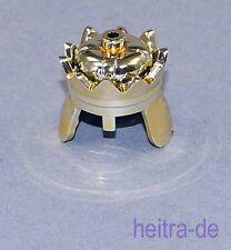 LEGO Ritter - Königs - Krone Chrom-Gold-farben / Chromgold / 71015 NEUWARE (a23)